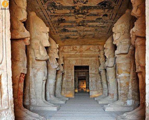 معماری سنگی تمدن مصر