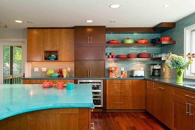 فضاهای پخت و آشپزخانه
