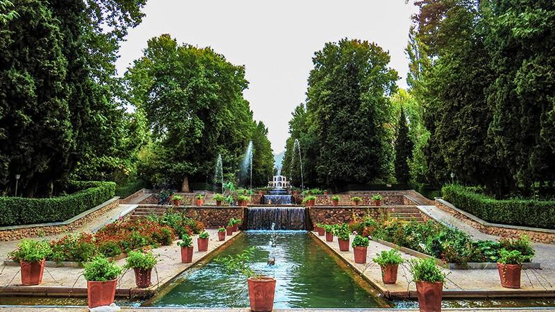 چهار باغ نمادی از بهشت در فرهنگ ایرانی