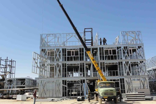 اجزای سازهای قاب فولادی