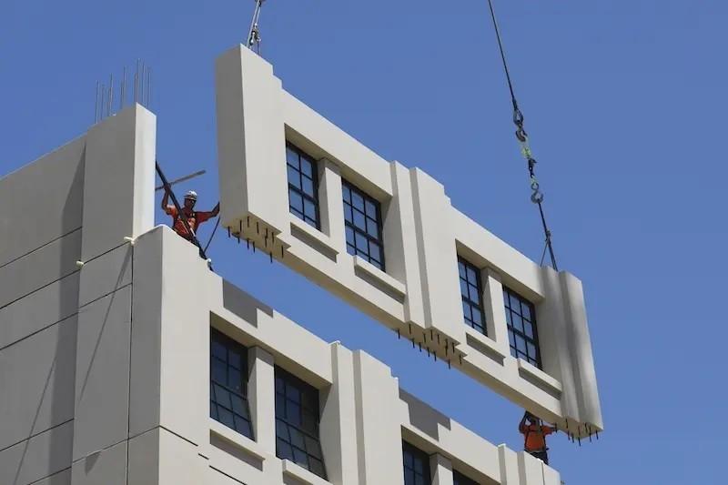 معماری در ساختمانهای پیشساخته